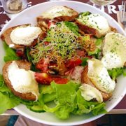 Burgund-bestes Essen