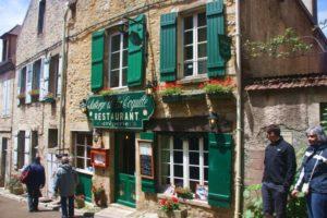 Kulinarische Reise-Burgund-Restaurant in Vézelay