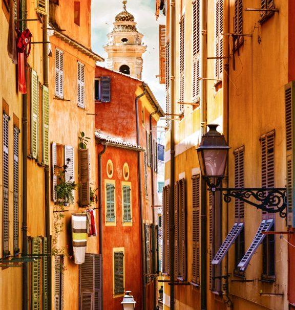 Provence, Farbe und Licht in der Stadt