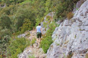 cote azur-Wanderung Gorges d'Oppedette