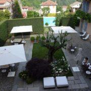 Kulinarische Reise-Piemont-Innenhof Hotel