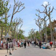 Provence-Aix-Flanieren