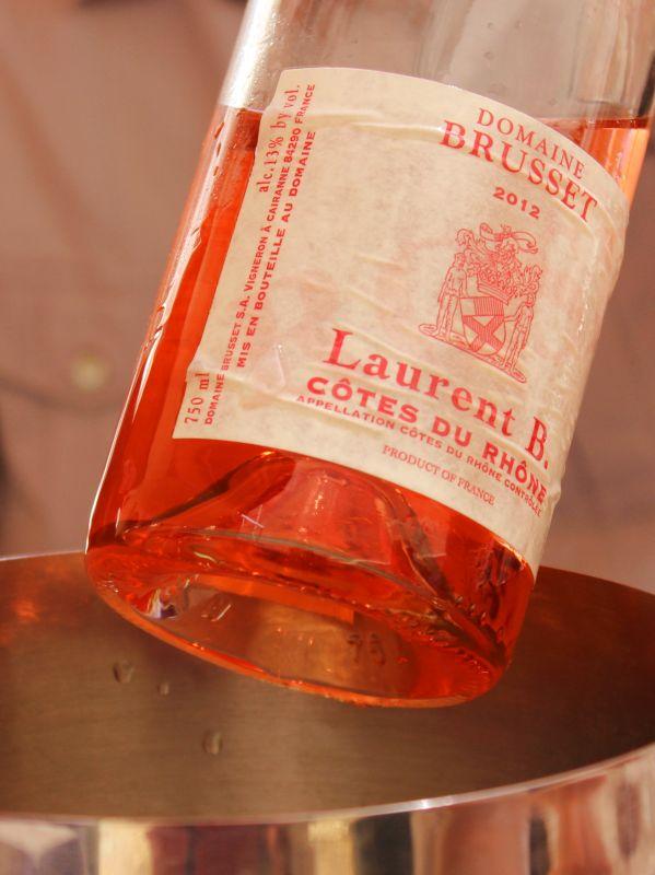 Wandern Provence-Wein
