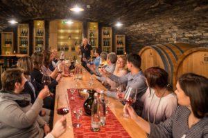 Weinwanderungen-zünftige Weinprobe