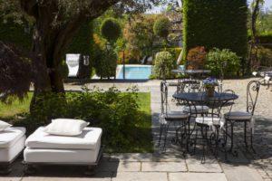 Kulinarische Reise-Piemont-Entspannung im Garten