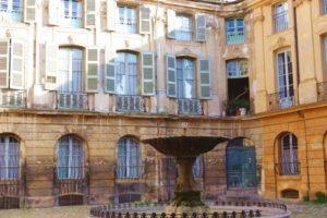 Cote Azur-Aix-en-Provence-Brunnen