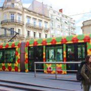 Okzitanien_Montpellier_Kunst im Verkehr