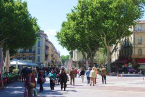 Wandern Provence-Altstadt Avignon