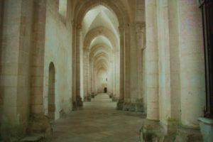 Burgund-Kloster Pontigny
