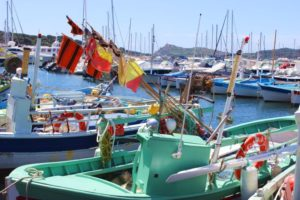 Cote Azur-Hafen