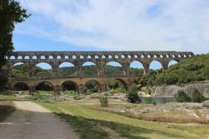 Provence-Pont du Gard-in seiner ganzen Pracht