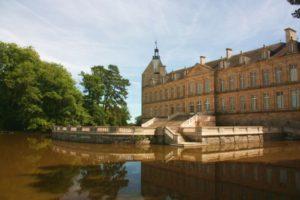 Uebernachten im Schloss-Wasserschloss-Chateau Sully-Burgund
