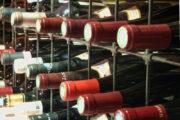 Weinvorrat in der Mühle