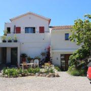 Cote Azur-der Strand liegt direkt hinter dem Haus