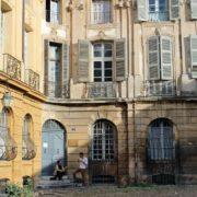 Provence-typische Fassade