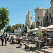 Provence-Papstpalast in Avignon