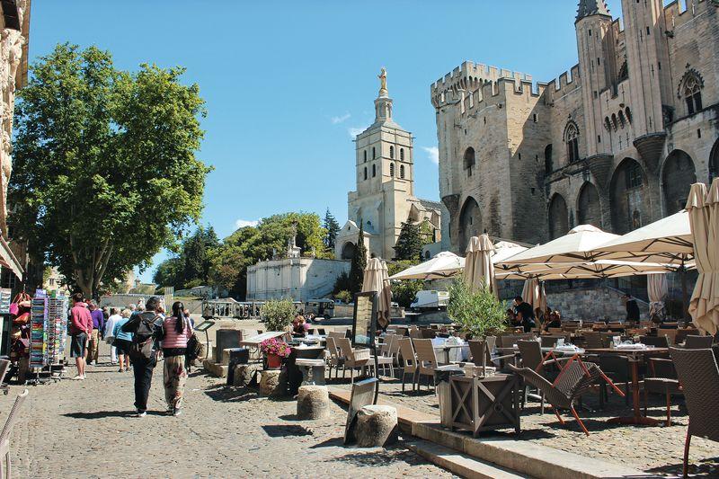 Cote dAzur-Papstpalast in Avignon