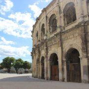 Provence-roemische Arena in Nimes