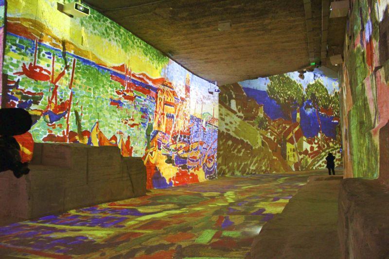 Provence Rundreise-Lichtspiele Les Baux