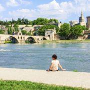 Provence-Brücke in Avignon