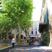 Wandern Provence-ländliches Frankreich