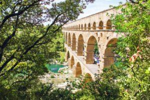 Wandern Provence-römisches Aquädukt