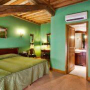 Aktives Reisen-grünes Zimmer