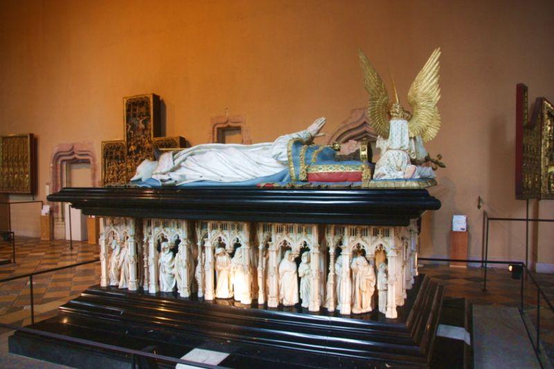 wandern und wein-Grabmäler Dijon