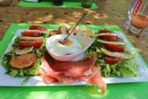 Okzitanien-Tomatensalat