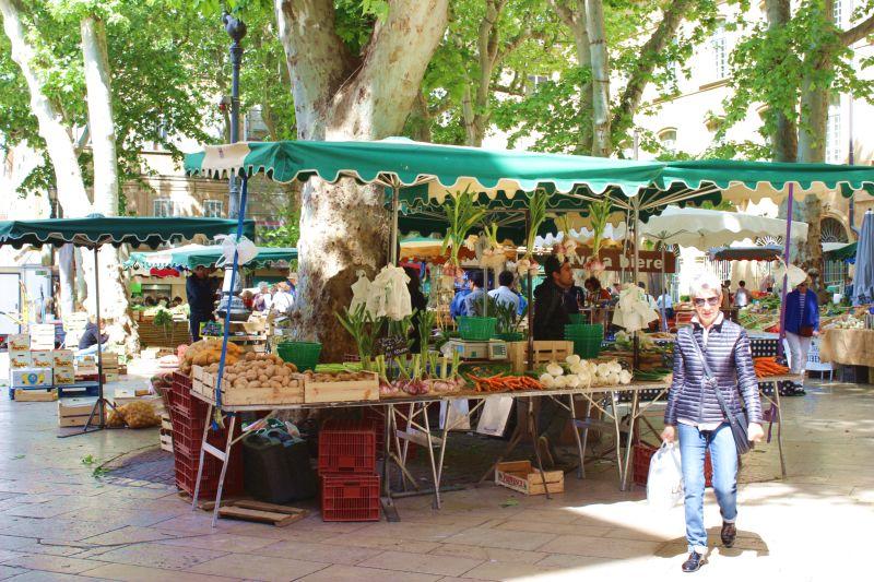 Cote dAzur-Markt in Aix