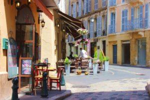 Wandern-Provence-Cafe