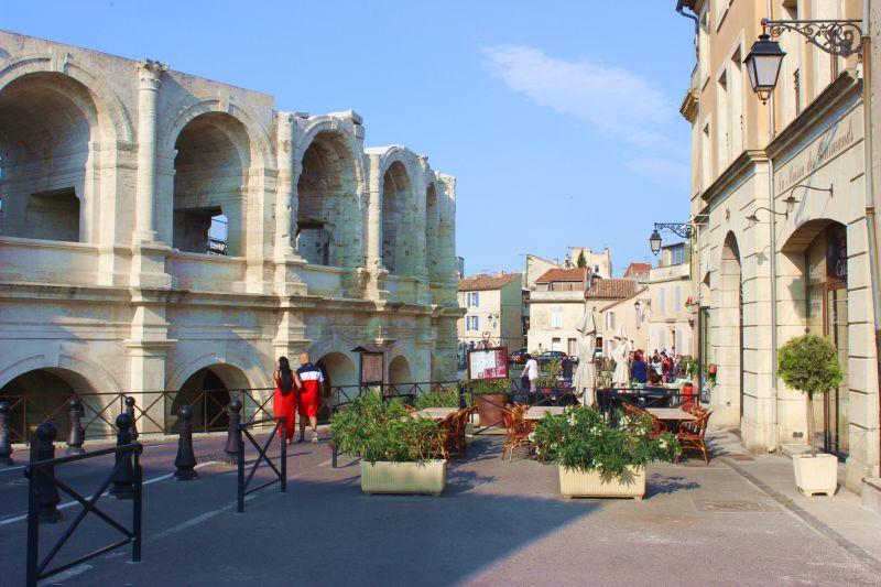 Kunstreise Okzitanien-Arles-Amphitheater