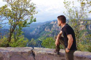Provence-Schlucht von Verdon-Ausblick