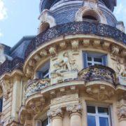 Okzitanien_Fassade in Montpellier