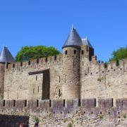 Languedoc Burg von Carcassonne
