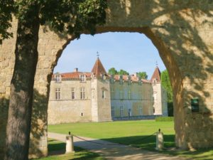 Burg in der Süßweinregion Sauternes