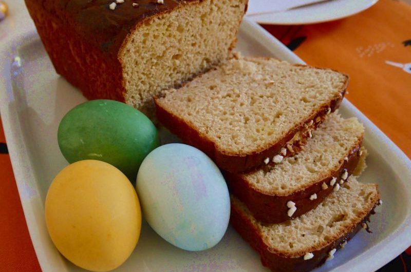 Brioches zu Ostern