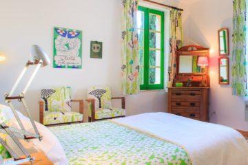 Grünes Zimmer, Beispiel für Ihre Provence mit Kindern Reise