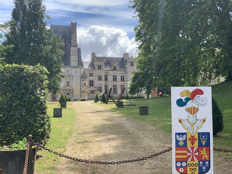 Normandie Rundreise, Schloss
