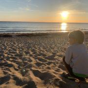 Normandie-Urlaub_Sonnenuntergang